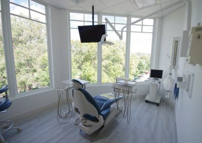 Dental operatory with a view in the mission area of kelowna.